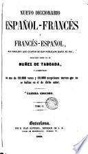 Nuevo diccionario espanol  frances y frances espanol