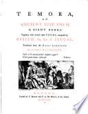 Temora  an Ancient Epic Poem