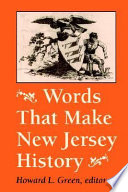 Words that Make New Jersey History
