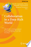 Collaboration In A Data Rich World