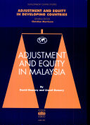 Adjustment and Equity in Malaysia