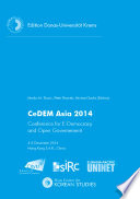 CeDEM Asia 2014