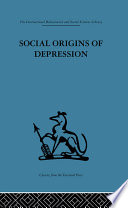 Social Origins of Depression