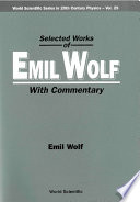 Selected Works of Emil Wolf