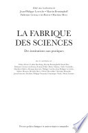 illustration La fabrique des sciences