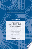 Marketing Leadership in Government