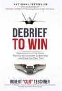 Debrief to Win Book PDF