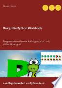 Das Gro E Python Workbook