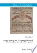 Laienastrologie im nachreformatorischen Island