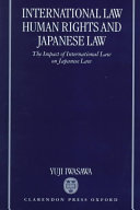 International Law  Human Rights  and Japanese Law