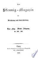 Das Pfennig Magazin F R Belehrung Und Unterhaltung 1850 Classic Reprint