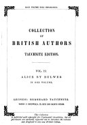 download ebook alice or the mysteries a sequel to ernest maltravers by edward bulwer lytton pdf epub