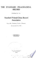 Standard Poland China Record