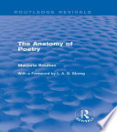 The Anatomy of Poetry  Routledge Revivals
