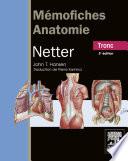illustration du livre Mémofiches Anatomie Netter - Tronc