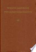 Wiener Jahrbuch fur Kunstgeschichte