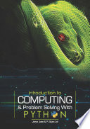 Introduction To Computing Problem Solving With Python