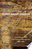 Crimes against Children