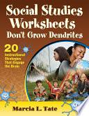Social Studies Worksheets Don t Grow Dendrites