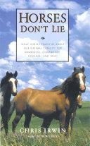 Horses Don t Lie