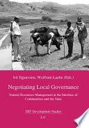Negotiating Local Governance