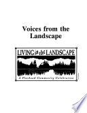 Voices from the Landscape