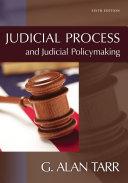 download ebook judicial process and judicial policymaking pdf epub