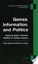 Games  Information  and Politics