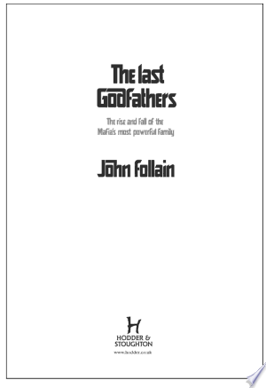 The Last Godfathers - ISBN:9781848942493