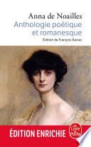 Anthologie po  tique et romanesque