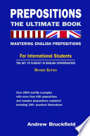 Prepositions  The Ultimate Book   Mastering English Prepositions