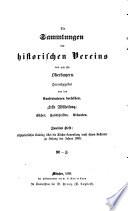 Die Sammlungen des historischen Vereins von und für Oberbayern