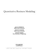 Quantitative Business Modeling