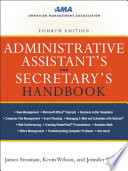 Administrative Assistant s and Secretary s Handbook