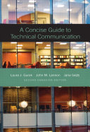 A Concise Guide to Technical Communication  Second Canadian Edition
