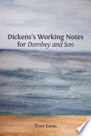 Dickens S Working Notes For Dombey And Son