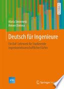 Deutsch f  r Ingenieure