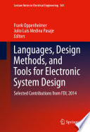 Languages Design Methods And Tools For Electronic System Design