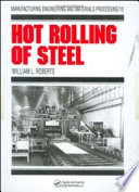 Hot Rolling of Steel Pdf/ePub eBook