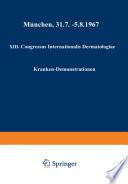 XIII. Congressus Internationalis Dermatologiae