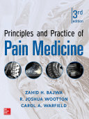 Principles and Practice of Pain Medicine 3 E