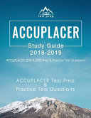 ACCUPLACER Study Guide 2018   2019