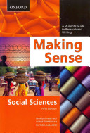 Making Sense in the Social Sciences  Making Sense in the Social Sciences