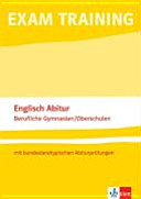 Englisch Abitur Berufliche Gymnasien  Oberschulen