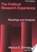 The Political Research Experience