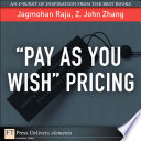 Pay As You Wish   Pricing