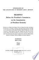 Investigation of the Assassination of President John F  Kennedy