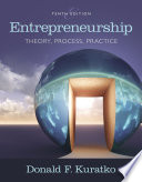 Entrepreneurship  Theory  Process  and Practice