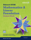 Mathematics A   Linear Foundation