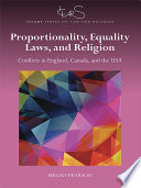 Proportionality Equality Laws And Religion